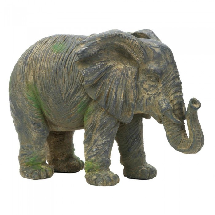 wholesale weathered elephant statue figurines statues home decorating wholesale. Black Bedroom Furniture Sets. Home Design Ideas