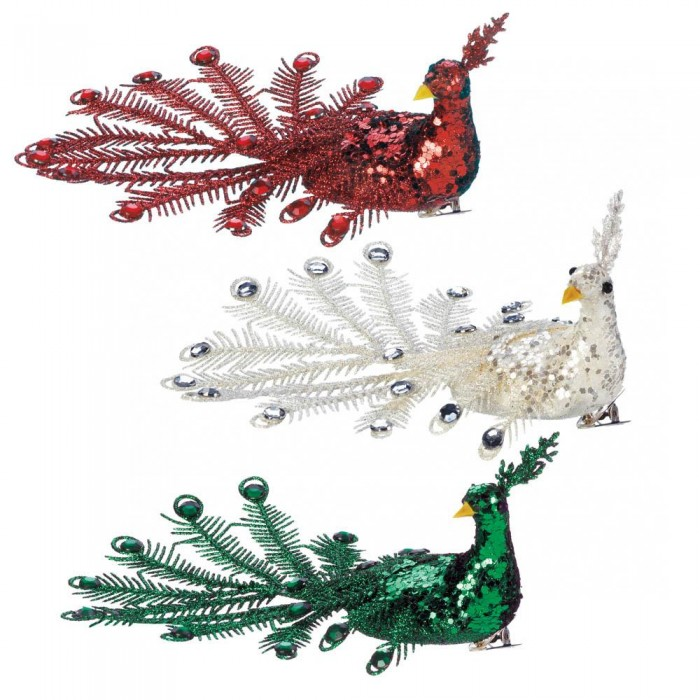 Wholesale festive peacock ornament set seasonal home decorating wholesale - Peacock home decor wholesale photos ...