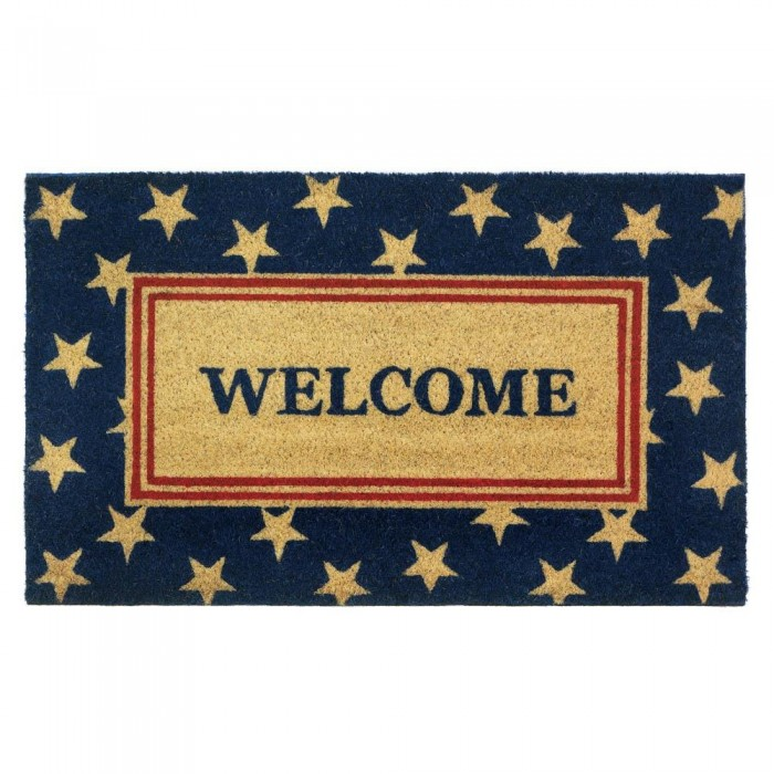 Wholesale patriotic welcome mat doormats home for Patriotic welcome home decorations