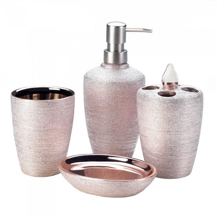 Wholesale Rose Golden Shimmer Bath Accessories Bath Decor Home Decorating Wholesale