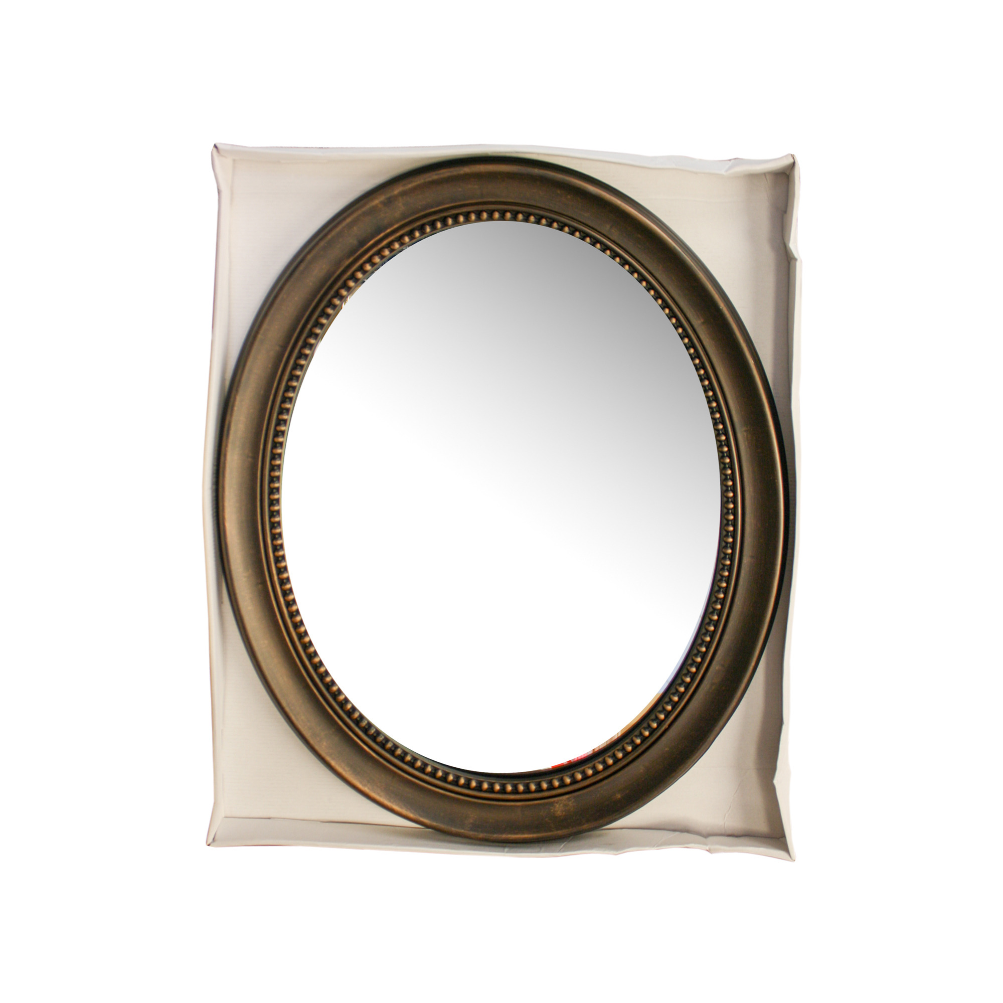 Wholesale wall mirrors home decorating wholesale wholesale antique bronze framed oval mirror amipublicfo Choice Image