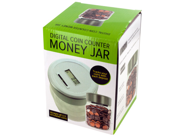 Wholesale piggy banks money jars home decorating wholesale - Coin bank that counts money ...