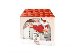 Wholesale Santa And Friends Honeycomb Decorations