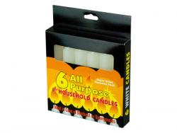 "Wholesale 6 Pack 4"" All-Purpose Candles"