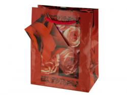 Wholesale Small Red Rose Gift Bag