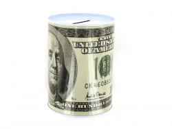 Wholesale 100 Dollar Bill Tin Money Bank