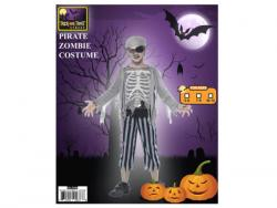 Wholesale Boys Pirate Zombie Shirt + Pant Costume