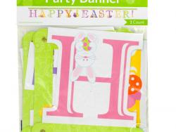 Wholesale 'Happy Easter!' Jointed Party Banner